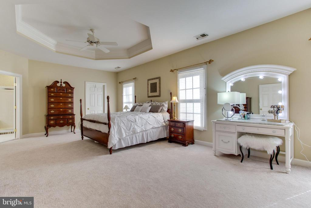 Master Bedroom w/ Tray Ceiling, Sitting Area - 47297 OX BOW CIR, STERLING