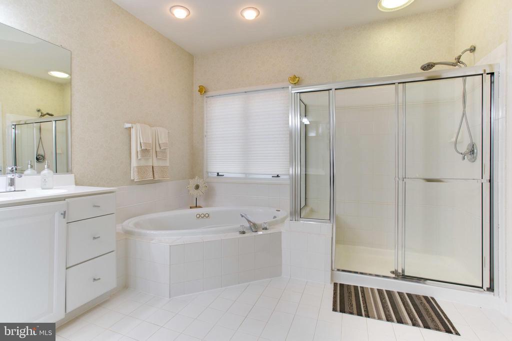 Dual Vanities, Soaking Tub, Separate Shower - 47297 OX BOW CIR, STERLING