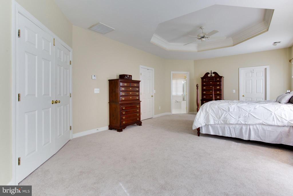 MBR w/ Tray Ceiling, New Carpet, Dual Closets - 47297 OX BOW CIR, STERLING