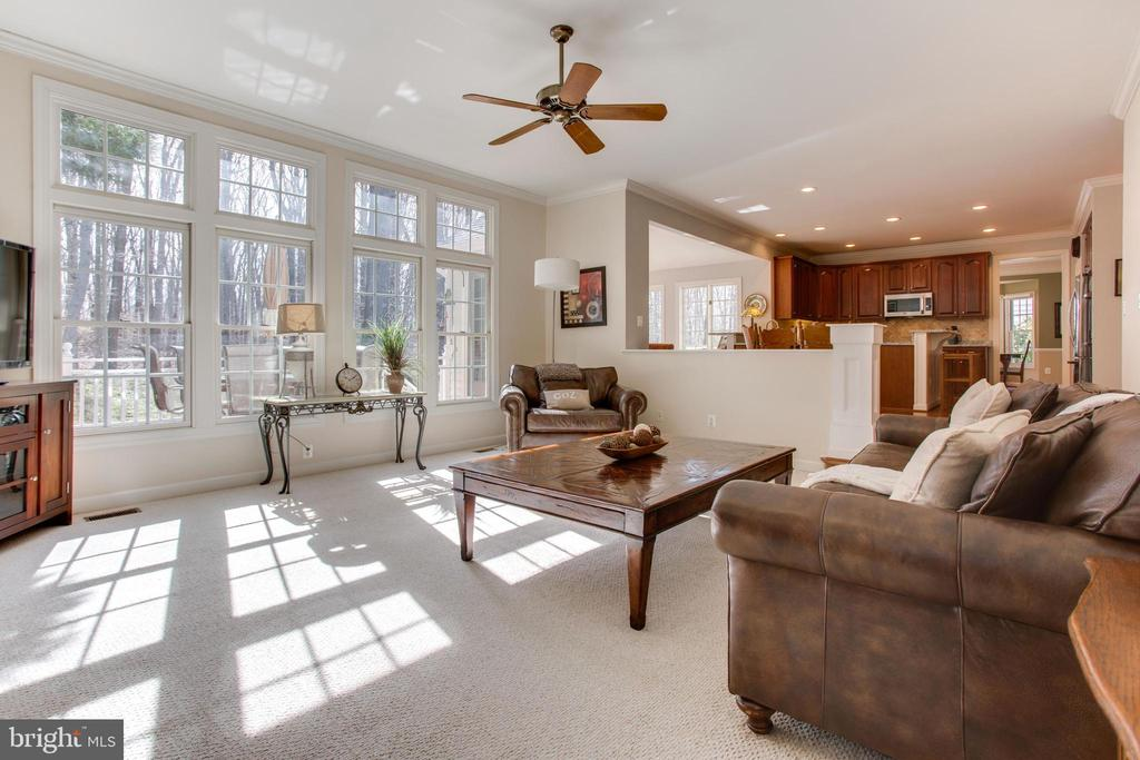 Bright and Spacious Family Room - 47297 OX BOW CIR, STERLING