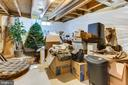 Enormous Unfinished Storage Room in LL - 47297 OX BOW CIR, STERLING