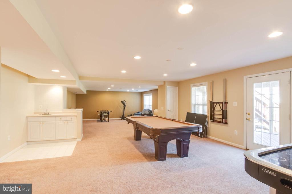 Rec Room with Wet Bar - 42824 VESTALS GAP DR, BROADLANDS