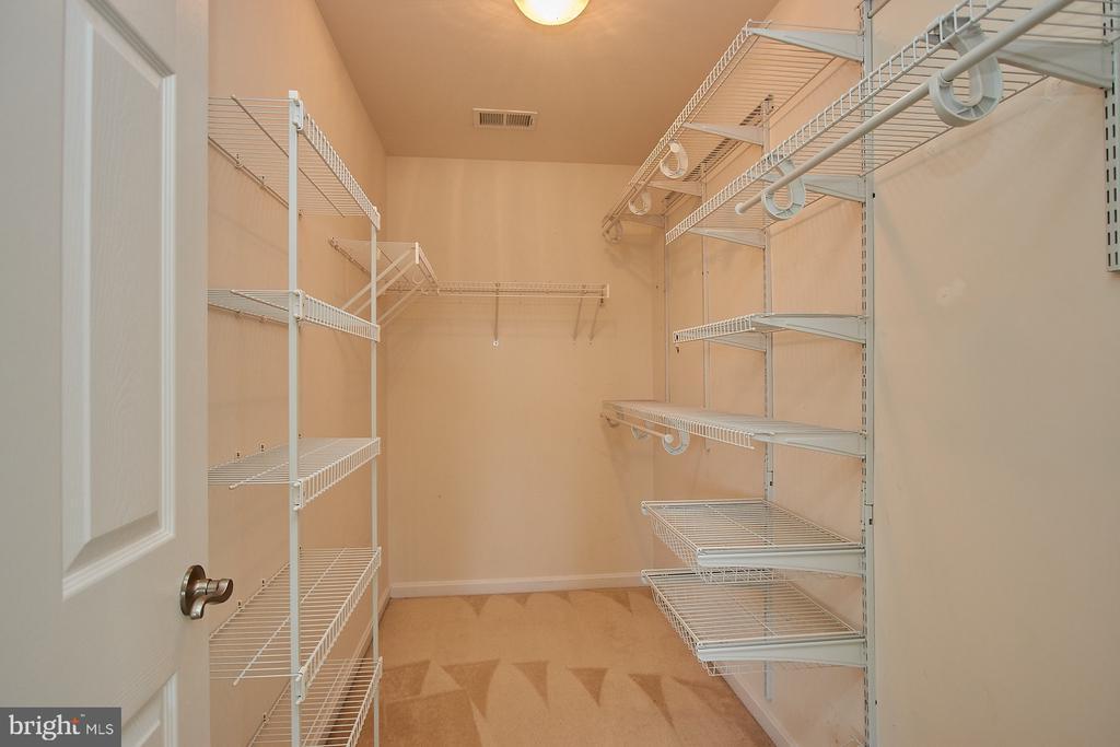 Master Bedroom walk in closet - 8828 HEPNER CT, BRISTOW