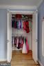 Bedroom #2 Closet - 42 KENNEDY ST, ALEXANDRIA
