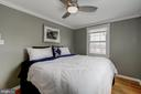 Master Bedroom - Hardwoods, Overhead Lighting! - 42 KENNEDY ST, ALEXANDRIA
