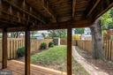 Lower Level Deck Looks Out to Beautiful Back Yard! - 42 KENNEDY ST, ALEXANDRIA