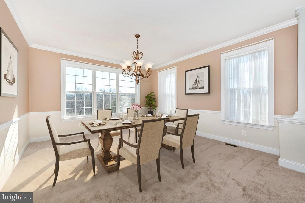 Dining Room - 6103 RIVER VIEW CT, FREDERICK