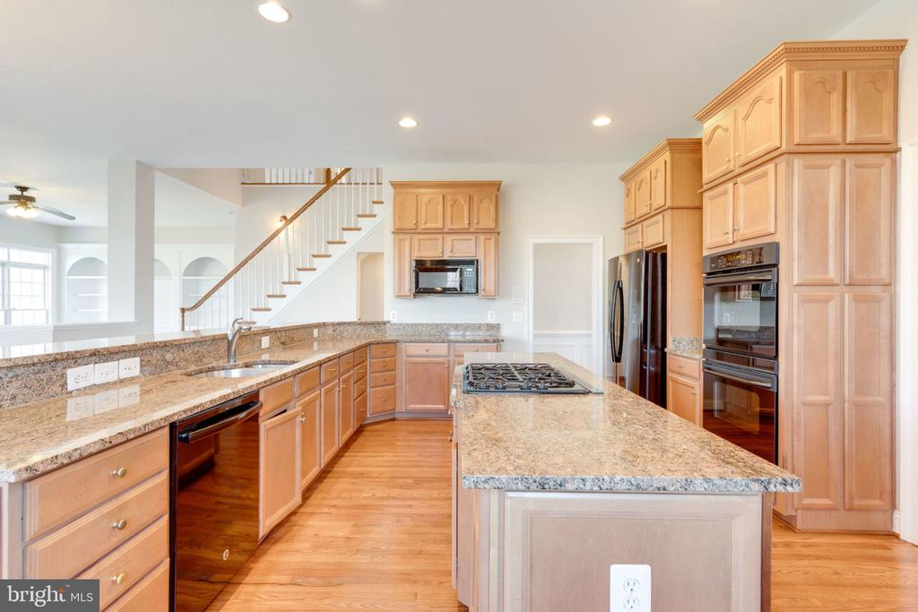 A gourmet cooks dream kitchen. - 9004 ADAMS CHASE CIR, LORTON