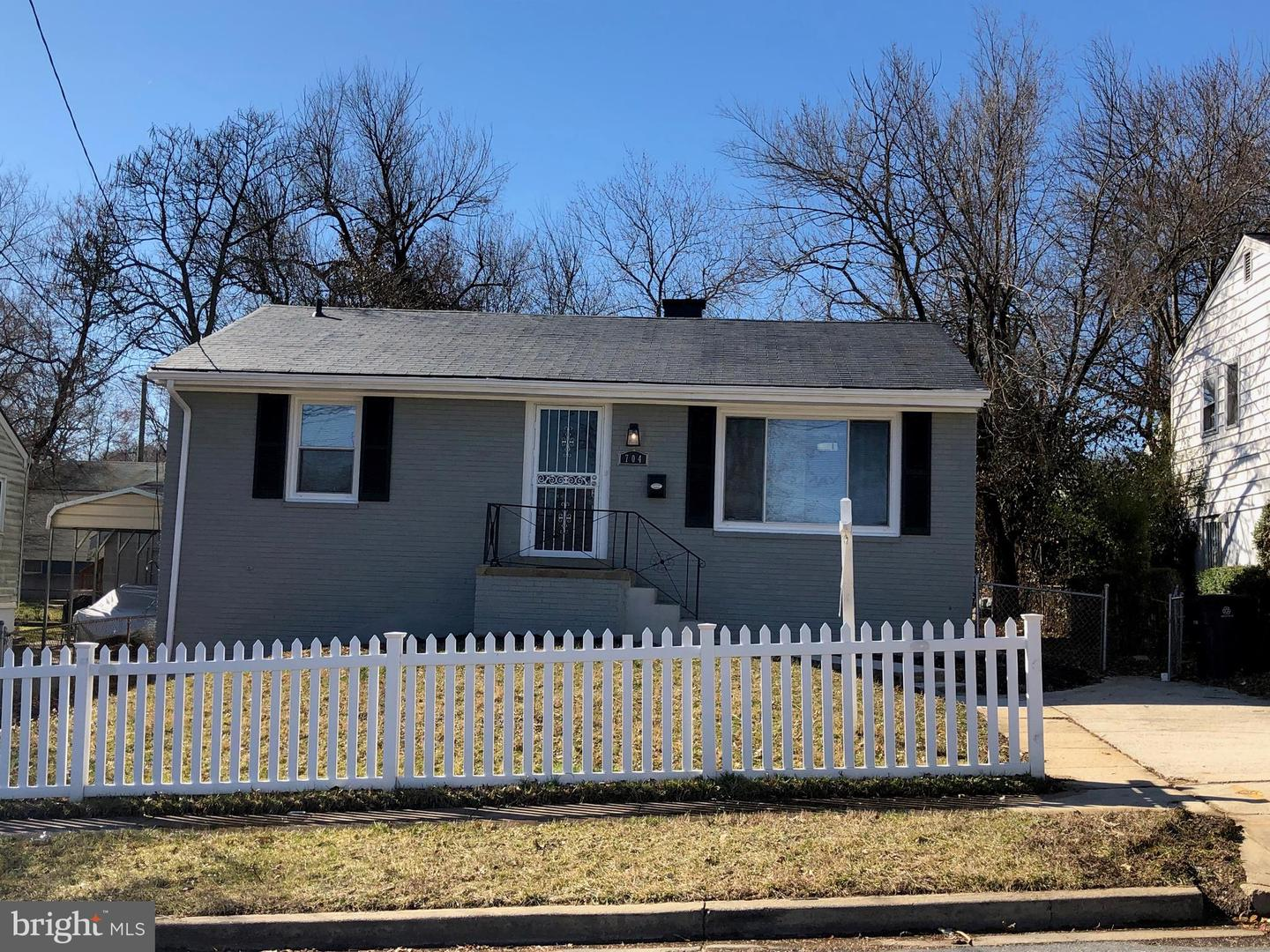Photo of home for sale at 704 66th Avenue, Capitol Heights MD