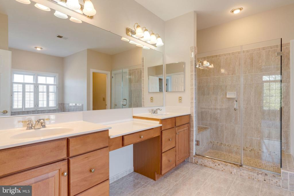 Luxury master bath - 9004 ADAMS CHASE CIR, LORTON