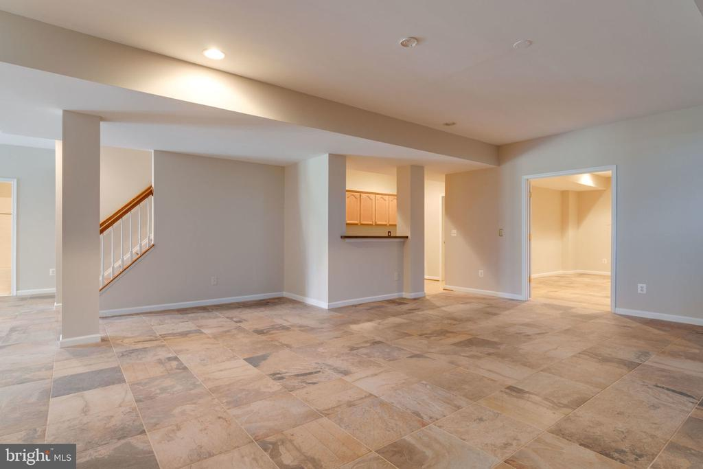 Entertainers dream room. - 9004 ADAMS CHASE CIR, LORTON