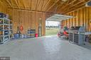 Detached 2 Car Garage - 3rd Rear Door - 10901 DEER MEADOW CT, NOKESVILLE