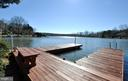 View from the dock - 1351 LAKEVIEW PKWY, LOCUST GROVE