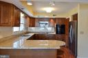 Kitchen - brand new granite counter tops - 1351 LAKEVIEW PKWY, LOCUST GROVE