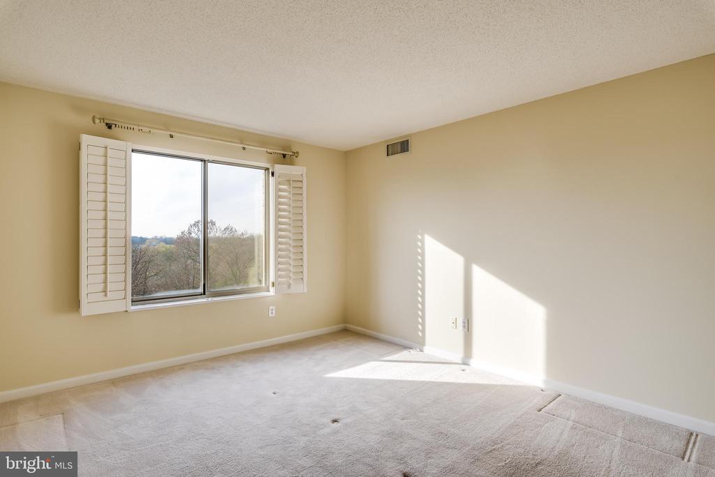 Window treatments and nice carpet in each bedroom - 19385 CYPRESS RIDGE TER #801, LEESBURG
