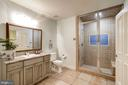 Steam shower bath with laundry/pool changing room - 886 CHINQUAPIN RD, MCLEAN