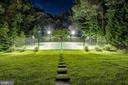 View of lighted Tennis/Sports court - 886 CHINQUAPIN RD, MCLEAN