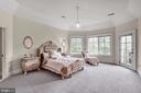 Second Master Suite with private balcony w/ensuite - 886 CHINQUAPIN RD, MCLEAN