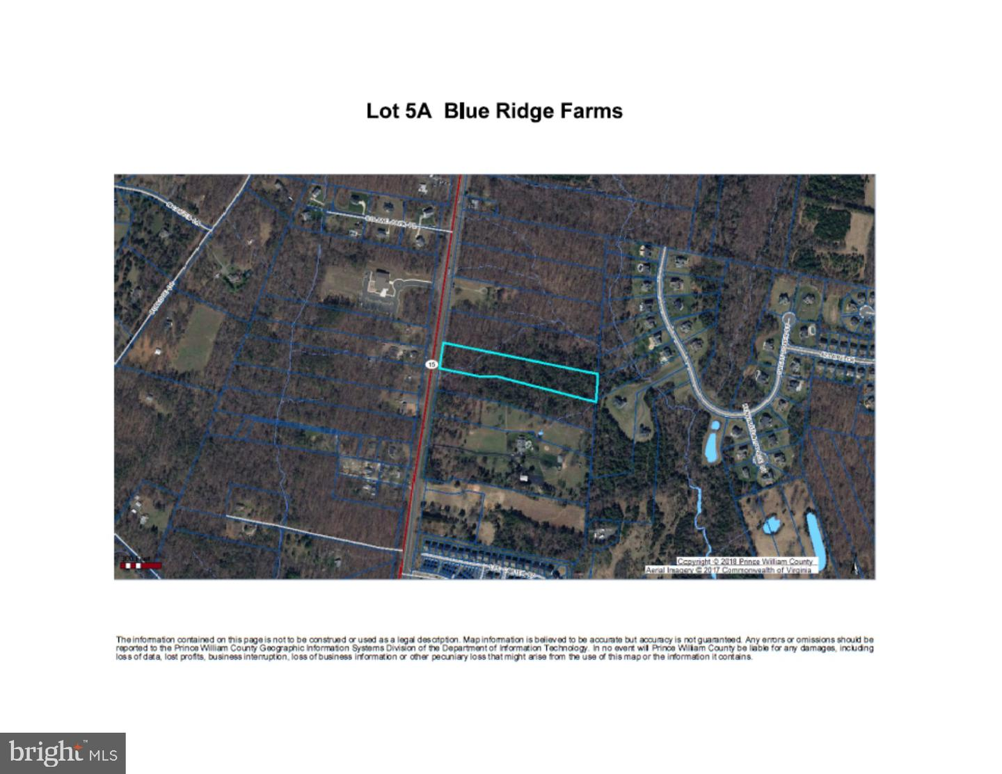 Land for Sale at 7607 James Madison Hwy Gainesville, Virginia 20155 United States