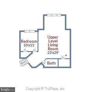 Loft Level Floor Plan - 43703 BURNING SANDS TER, LEESBURG
