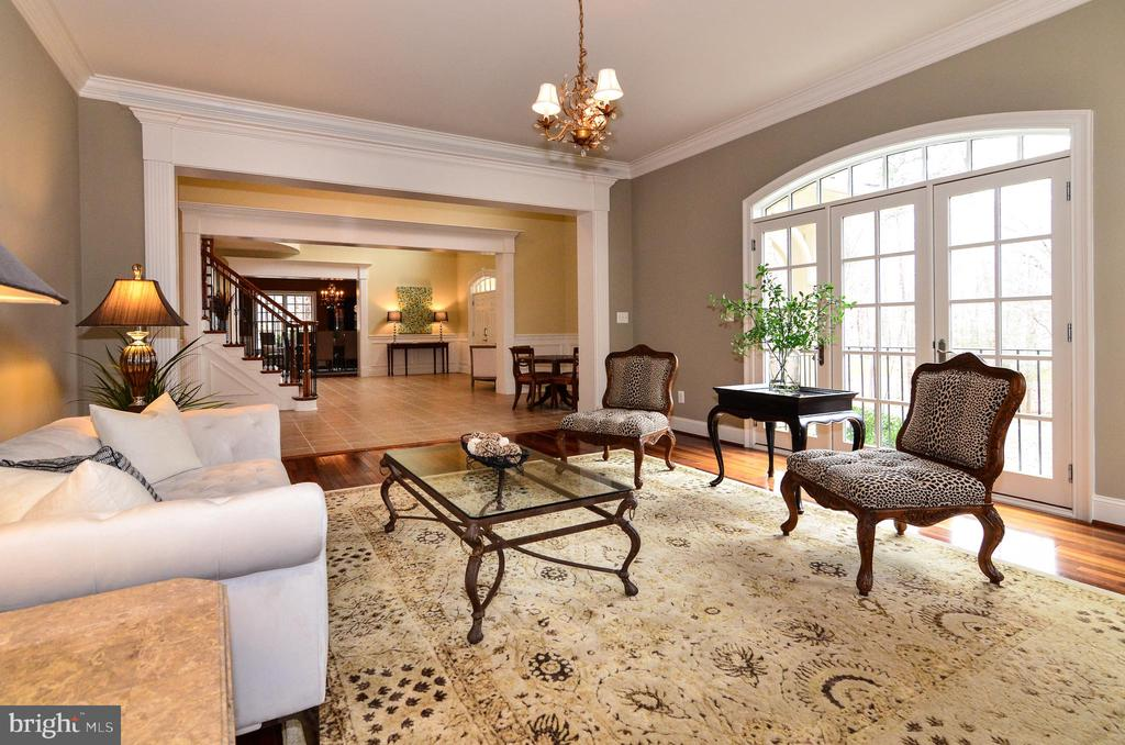 Bright and spacious formal living room - 12794 YATES FORD ROAD, CLIFTON