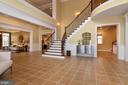Impressive foyer with grand staircase - 12794 YATES FORD ROAD, CLIFTON