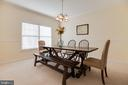 Dining Room - 15588 DRYDEN WAY, DUMFRIES