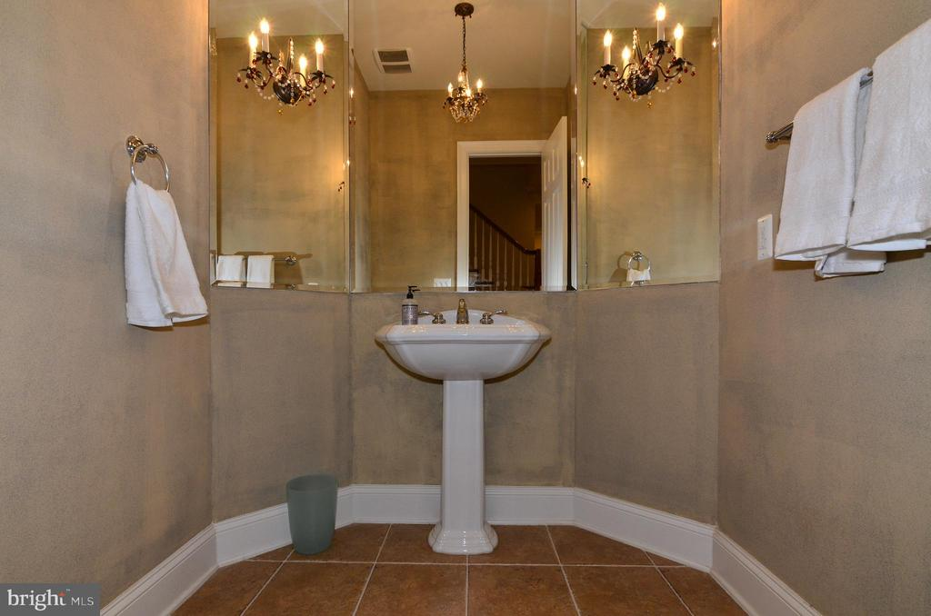 Formal powder room on main level - 12794 YATES FORD ROAD, CLIFTON