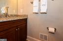 2nd powder room off kitchen - 12794 YATES FORD ROAD, CLIFTON