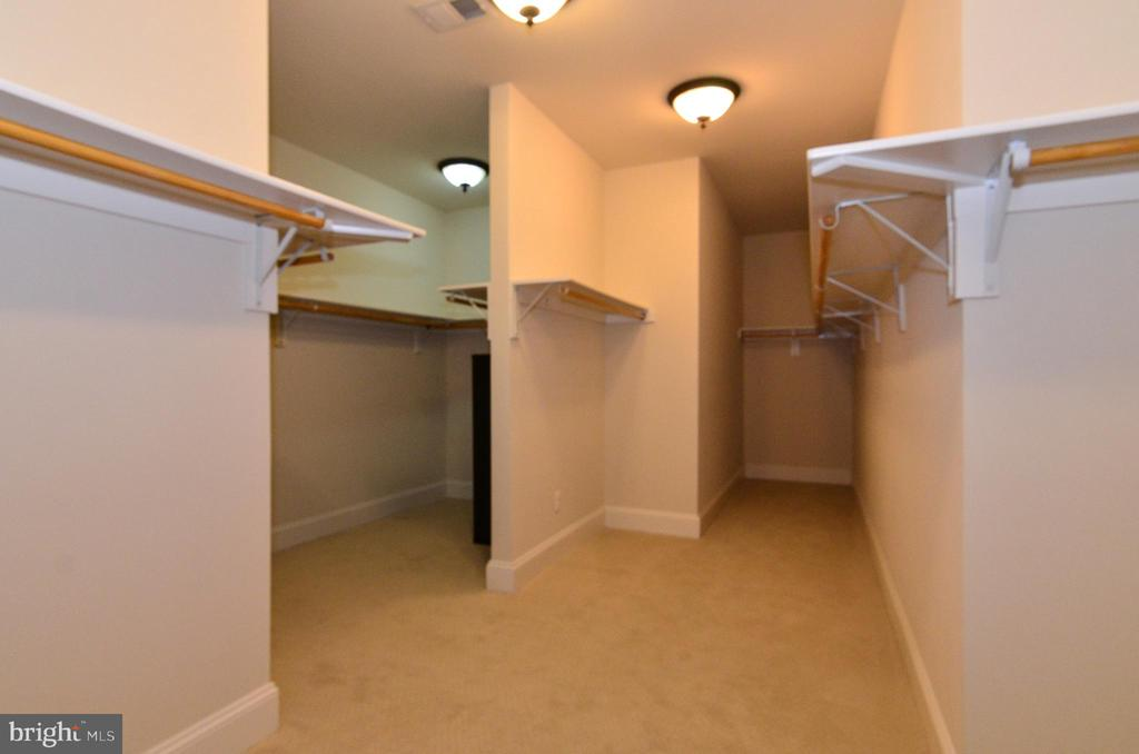 HUGE closet space with room for everything! - 12794 YATES FORD ROAD, CLIFTON