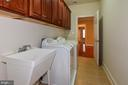 2nd level large laundry room with sink& pass thru - 12794 YATES FORD ROAD, CLIFTON
