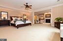 Master bedroom is bright and airy - 12794 YATES FORD ROAD, CLIFTON