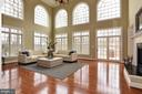 Extraordinary light filled family room - 12794 YATES FORD ROAD, CLIFTON