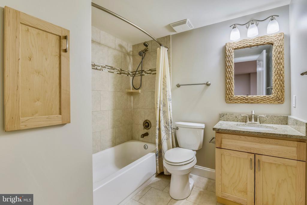Lower Level Bathroom - 43268 HILL HEAD PL, LEESBURG