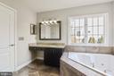 Remodeled Master Bath - 43268 HILL HEAD PL, LEESBURG