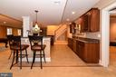 Beautiful cabinets galore in bar area - 12794 YATES FORD ROAD, CLIFTON