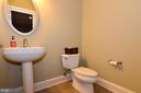 Lower floor powder room - 12794 YATES FORD ROAD, CLIFTON