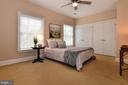 4th bedroom with two big wondows - 12794 YATES FORD ROAD, CLIFTON