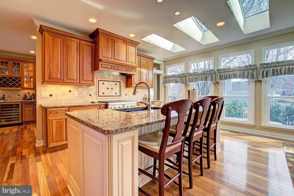 Stunning Gourmet Kitchen - 3055 JEANNIE ANNA CT, HERNDON