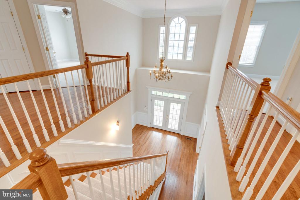 Bright and Sunny foyer - 9004 ADAMS CHASE CIR, LORTON
