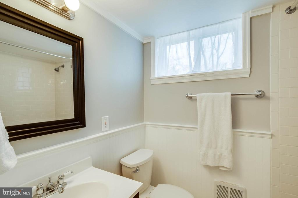 Full bath on lower level - 4123 BURKE STATION RD, FAIRFAX