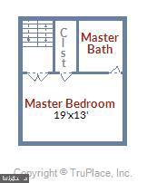 Separate Master Bedroom level - 7005 CHESLEY SEARCH WAY, ALEXANDRIA