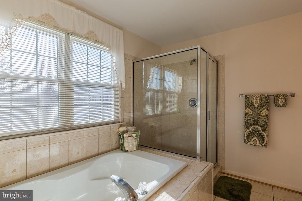 Luxury MB Suite w/soaking tub & Sep Shower - 8 WESTCHESTER CT, STAFFORD