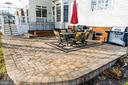 Stamped Concrete Patio - 4741 CHARTER CT, WOODBRIDGE