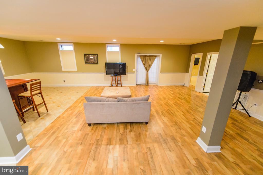 Basement Family Room - 4741 CHARTER CT, WOODBRIDGE