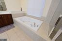 Master Bath Whirlpool Tub - 4741 CHARTER CT, WOODBRIDGE