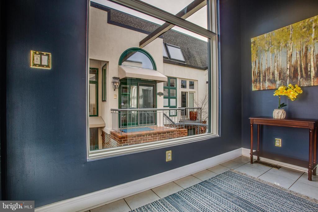 New Pella Windows in entrance foyer! - 717 KENMORE AVE, FREDERICKSBURG