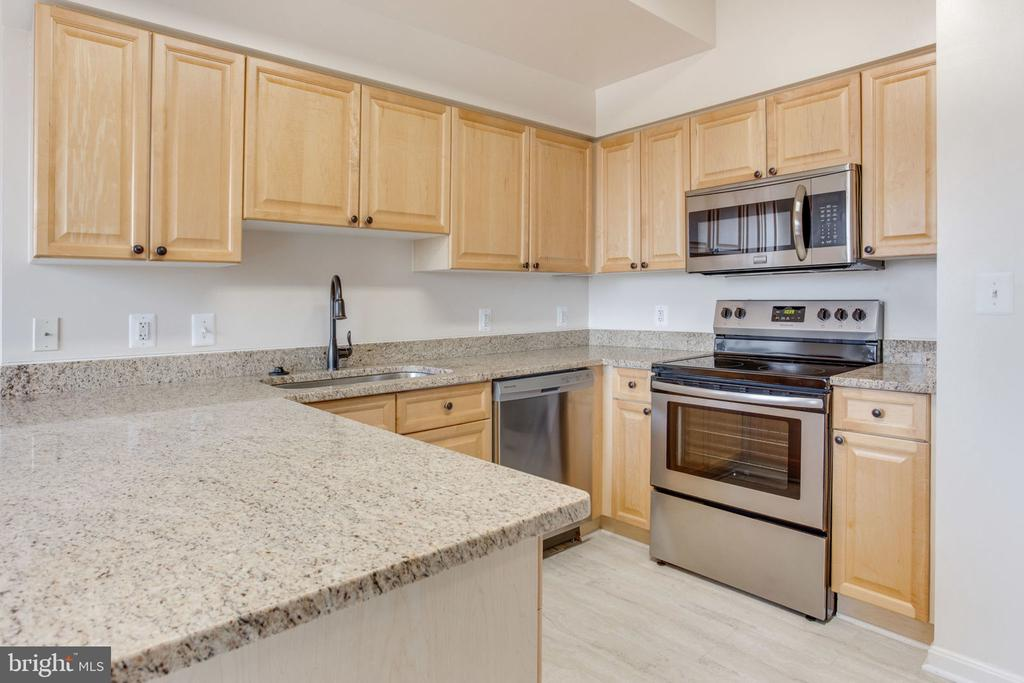 New Stainless Appliances for the Chef - 19355 CYPRESS RIDGE TER #601, LEESBURG