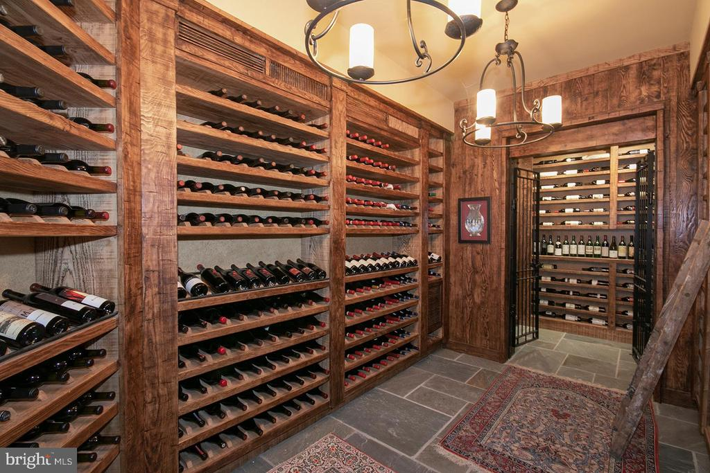 Wine Cellar with Rack Space for 1100 Bottles - 203 CARRWOOD RD, GREAT FALLS
