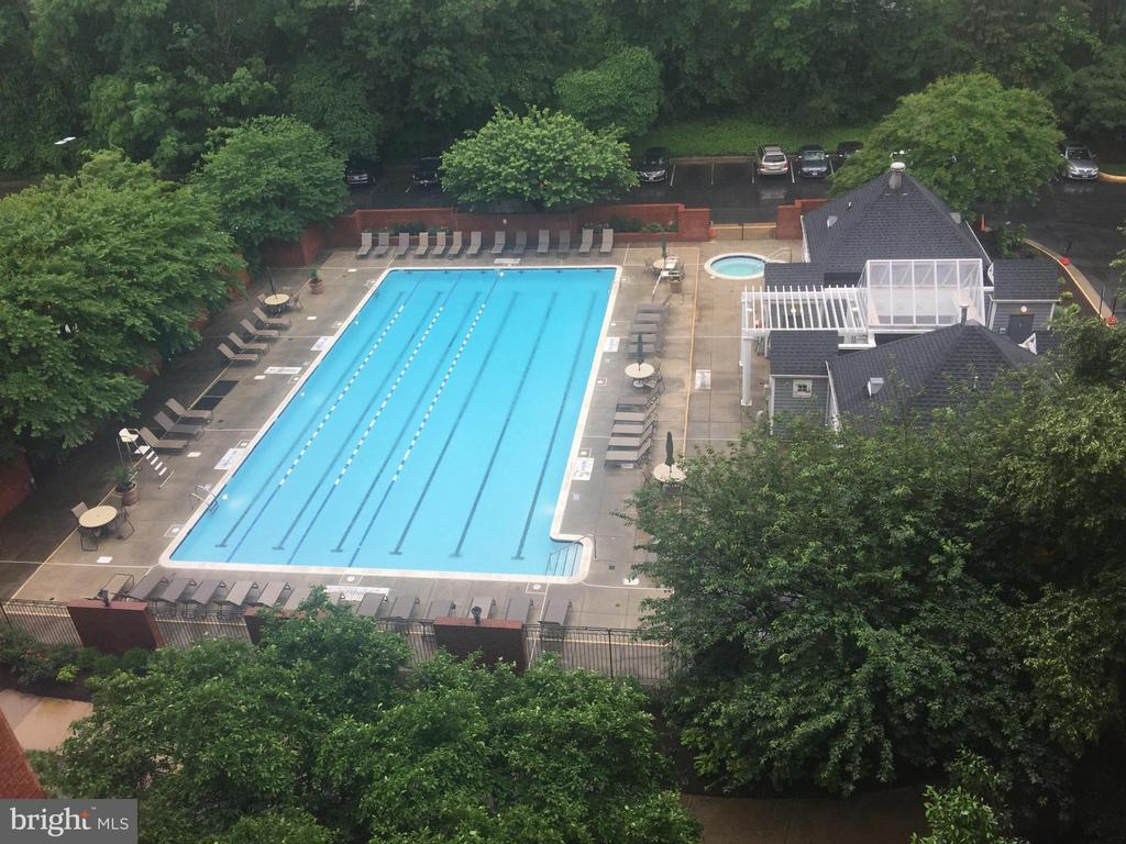 Year-round-25 yard pool - 2230 GEORGE C MARSHALL DR #1011, FALLS CHURCH